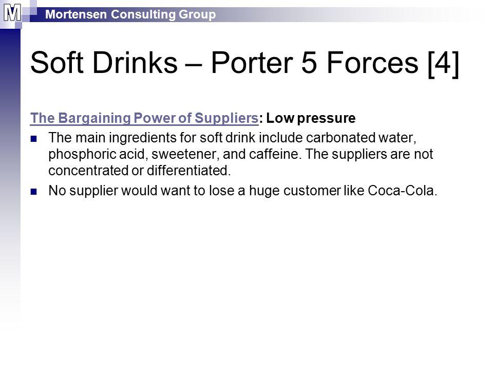 Soft Drinks – Porter 5 Forces [4]